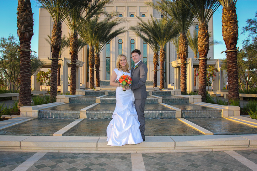 Gilbert AZ Temple Wedding Photos