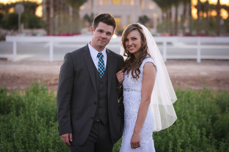 Gilbert AZ Temple Wedding