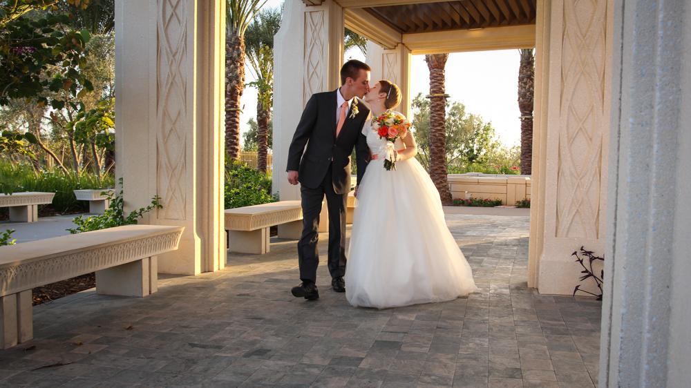 LDS Gilbert Temple Wedding