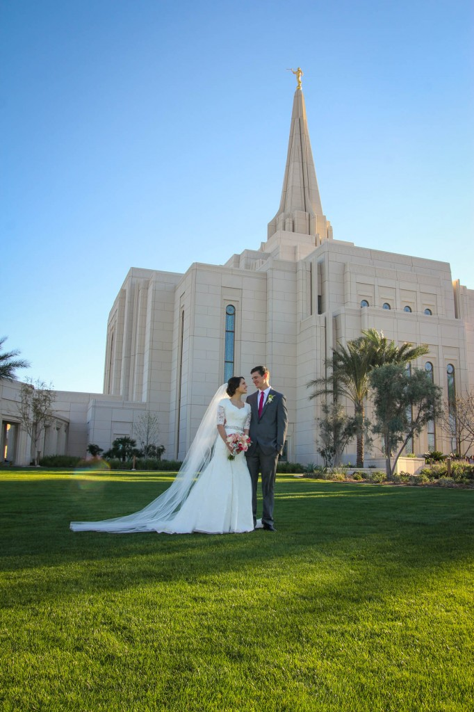 LDS Wedding Photographer