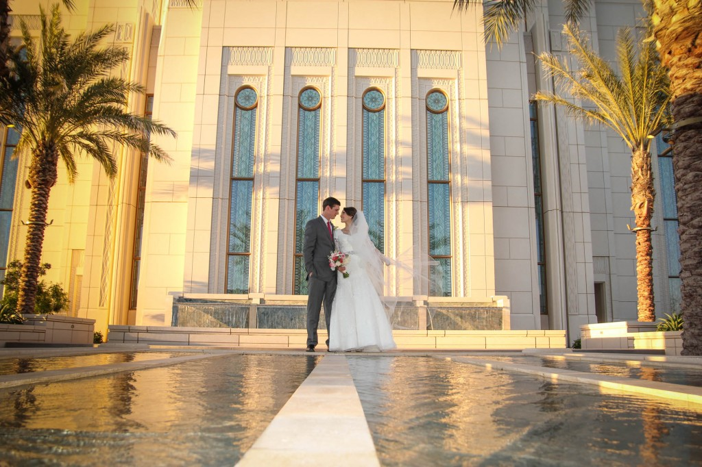 Mormon Wedding Photographer