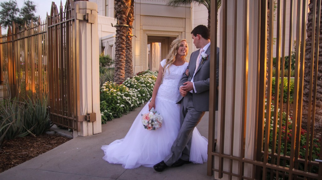 Gilbert AZ Temple Wedding Video