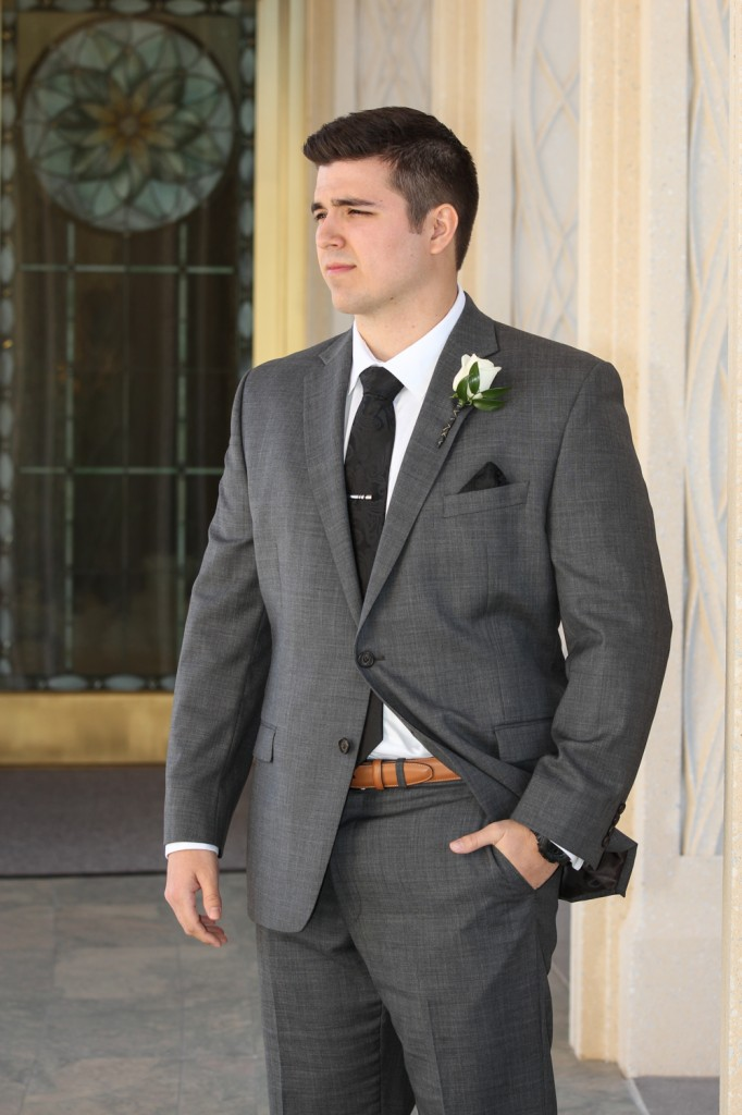 Gilbert Temple Wedding Groom