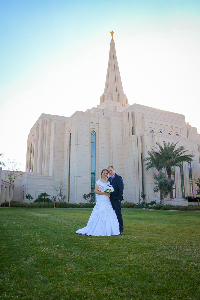Gilbert Arizona Temple Wedding Photography