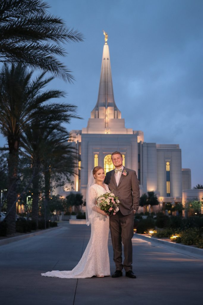 Gilbert Temple Wedding Photographer